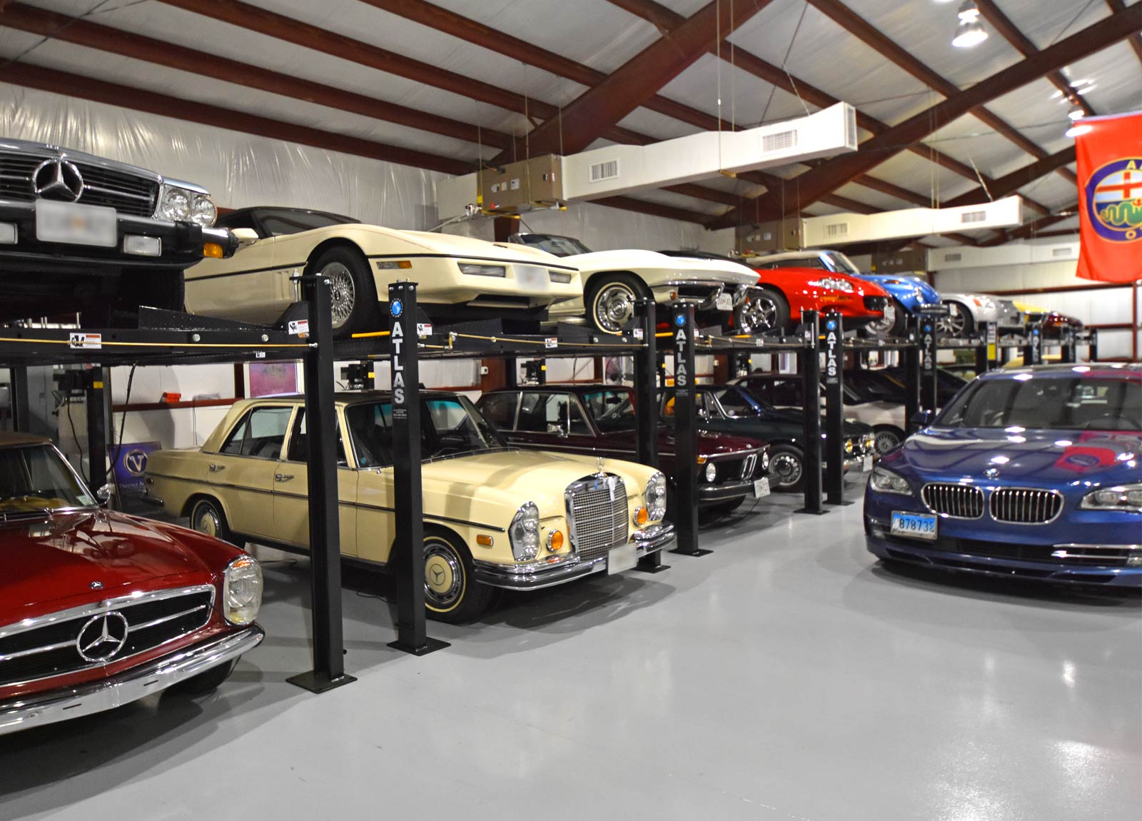 Classic Car Collector Storage Prestiage Auto Vault Easton Maryland 4